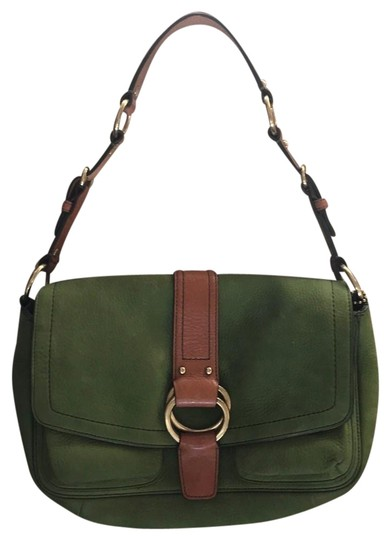 Preload https://img-static.tradesy.com/item/24674448/coach-leather-purse-strap-buckle-flap-soho-nod05-8a57-green-suede-shoulder-bag-0-1-540-540.jpg