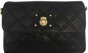 Marc Jacobs Quilted And Gold Cross Body Bag