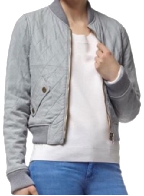 Chloé pastel Blue Leather Jacket Image 0