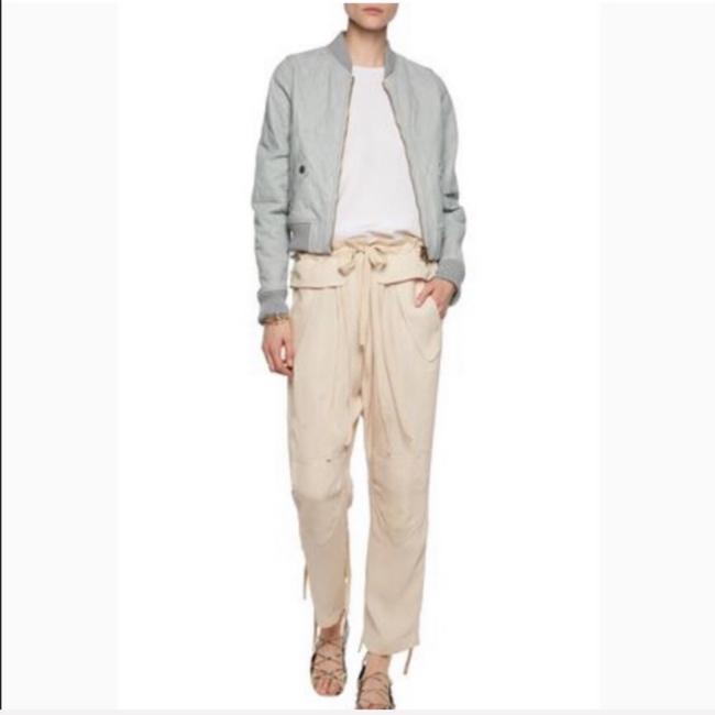 Chloé pastel Blue Leather Jacket Image 2