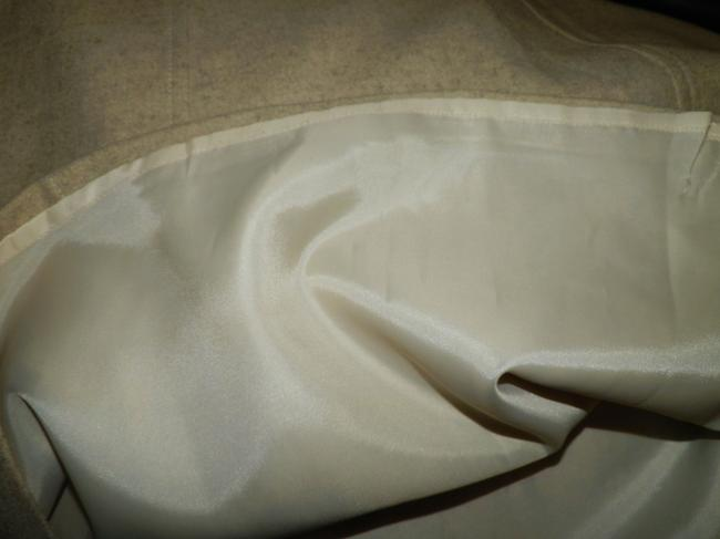 Gap Wool Lined Dryclean Only Zipper Skirt Tan Image 3