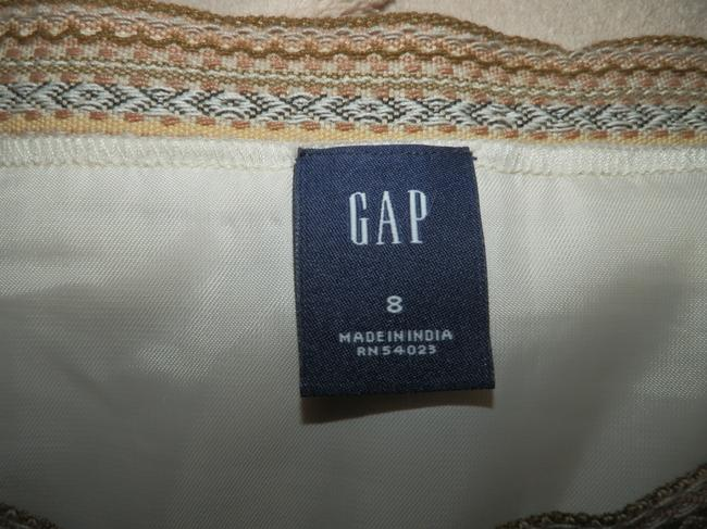 Gap Wool Lined Dryclean Only Zipper Skirt Tan Image 4