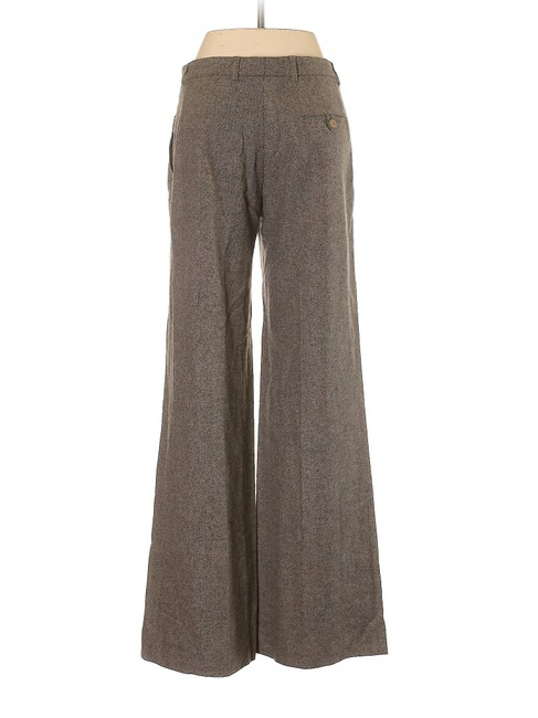 Vanessa Bruno Relaxed-trouser Mid-rise Wool Comfortable Trouser Pants Brown Image 1