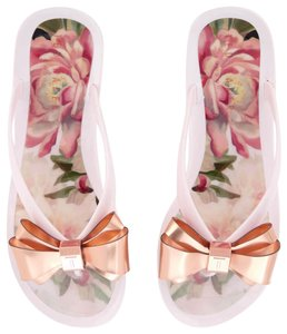 dfe6455c90d237 Ted Baker Pink Rueday Sandals Size US 6 Regular (M