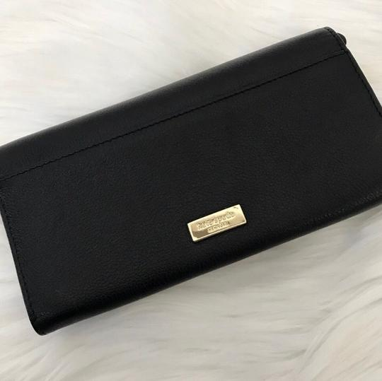 Kate Spade Leather Bow Wallet/Convertible Wristlet Image 1