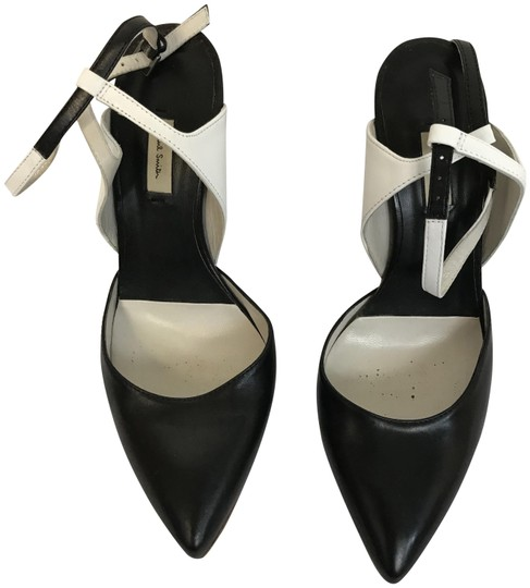 Preload https://img-static.tradesy.com/item/24674712/paul-smith-black-and-white-ankle-strap-pumps-size-eu-38-approx-us-8-regular-m-b-0-1-540-540.jpg