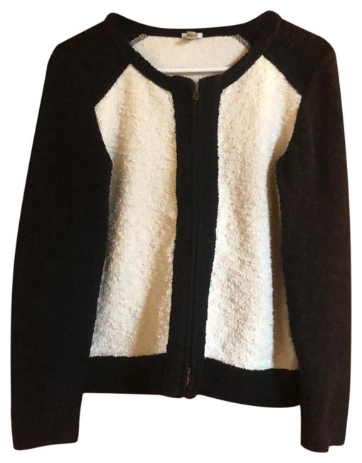 Preload https://img-static.tradesy.com/item/24674742/jcrew-black-white-boucle-jacket-blazer-size-6-s-0-1-650-650.jpg