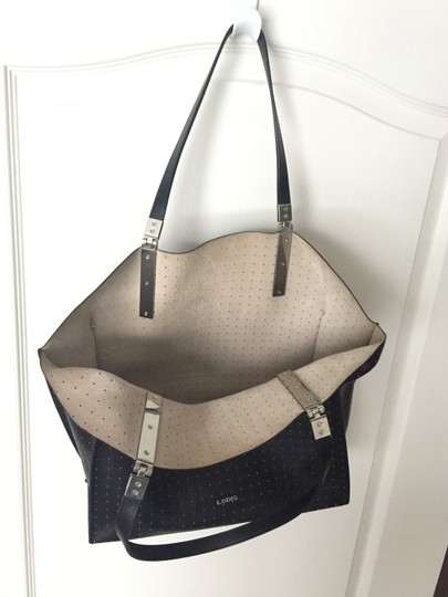 Lodis Leather Imported Leather Lightweight Liner & Dust Tote in Black Image 8