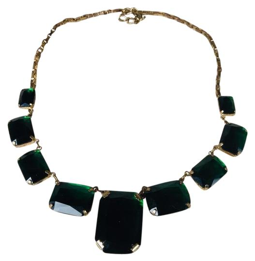 Preload https://img-static.tradesy.com/item/24674808/cache-green-emerald-and-gold-plated-necklace-0-1-540-540.jpg