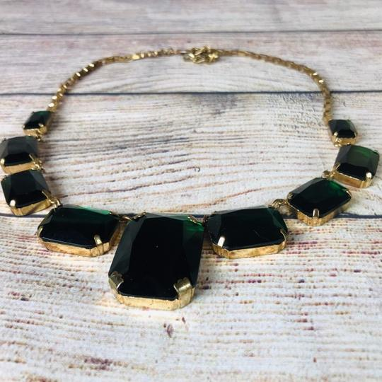 Cache Emerald and gold plated Cache Necklace Image 1