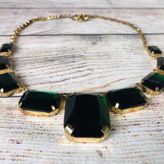 Cache Emerald and gold plated Cache Necklace Image 2