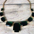 Cache Emerald and gold plated Cache Necklace Image 3