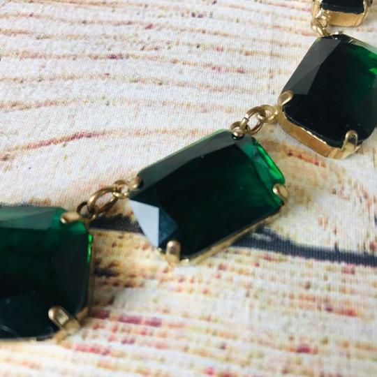 Cache Emerald and gold plated Cache Necklace Image 5