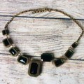 Cache Emerald and gold plated Cache Necklace Image 6