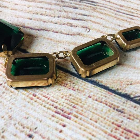 Cache Emerald and gold plated Cache Necklace Image 7