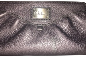Cole Haan Leather Cosmetic/Clutch bag