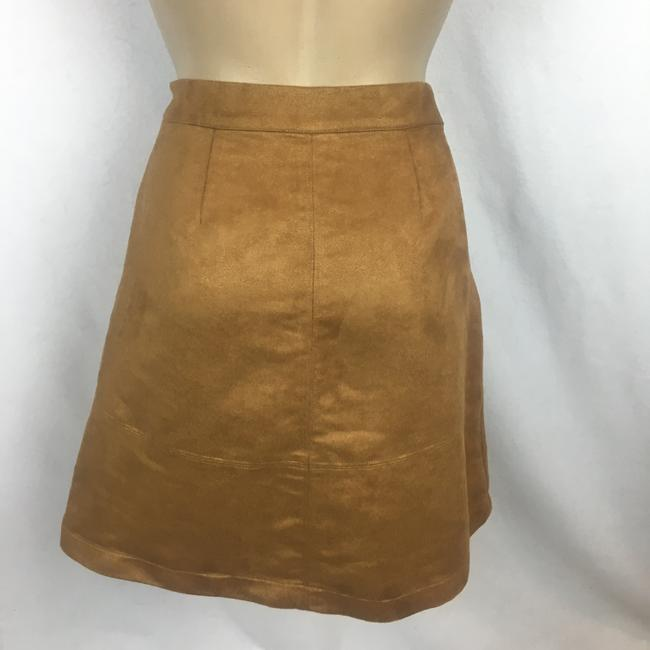 LC Lauren Conrad Mini Skirt Tan Image 2