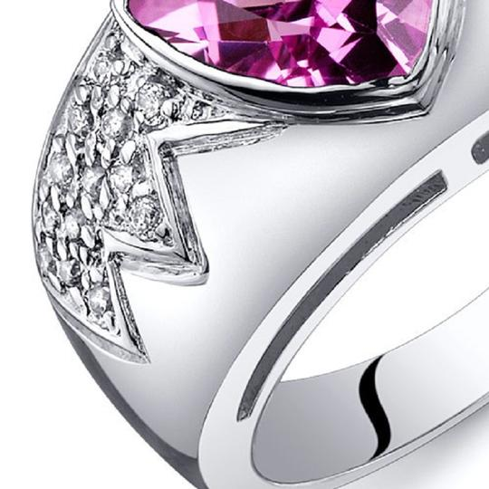 Other Glam Fashion Sapphire Trillion Cut Ring Image 2