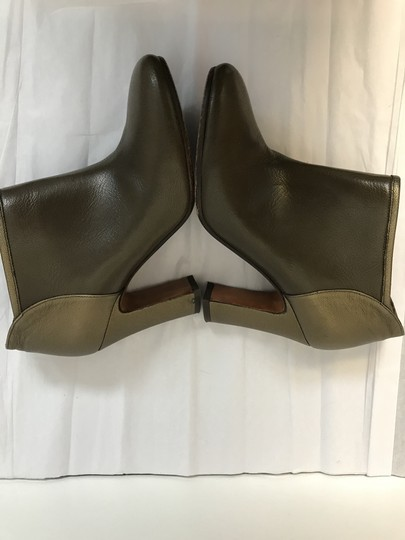 Michel Perry Olive/Bronze Boots Image 2