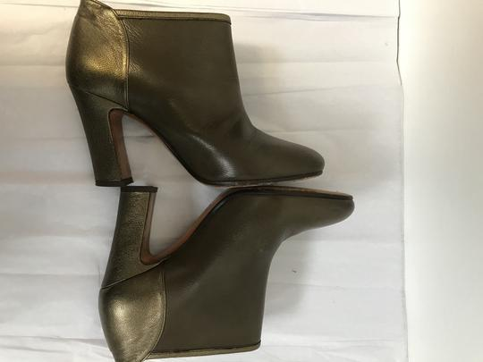 Michel Perry Olive/Bronze Boots Image 4