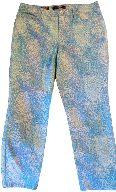 Preload https://img-static.tradesy.com/item/24674912/nine-west-turquoise-floral-light-wash-capricropped-jeans-size-31-6-m-0-1-650-650.jpg