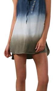 L.A.M.B. short dress blue ombre on Tradesy