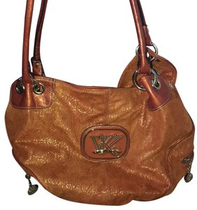 Kathy Van Zeeland Satchel in Orange