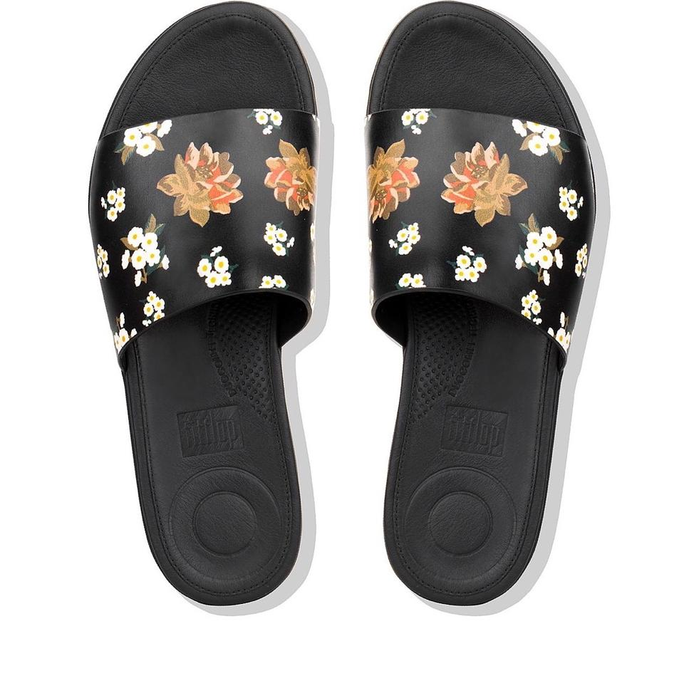 a0e0324baa485 FitFlop Black Sola Sandals. Size  US 10 Regular (M ...