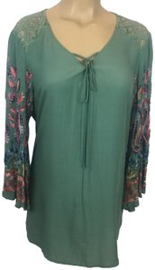 e548f74383ec4 Green Anthropologie Blouses - Up to 70% off a Tradesy (Page 3)