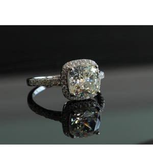 Will Not Be Tested As In Mine Diamonds However Will Sparkle and Shine This Is Not A Cheap Cz No Fade All Sizes Are In Me Engagement Ring