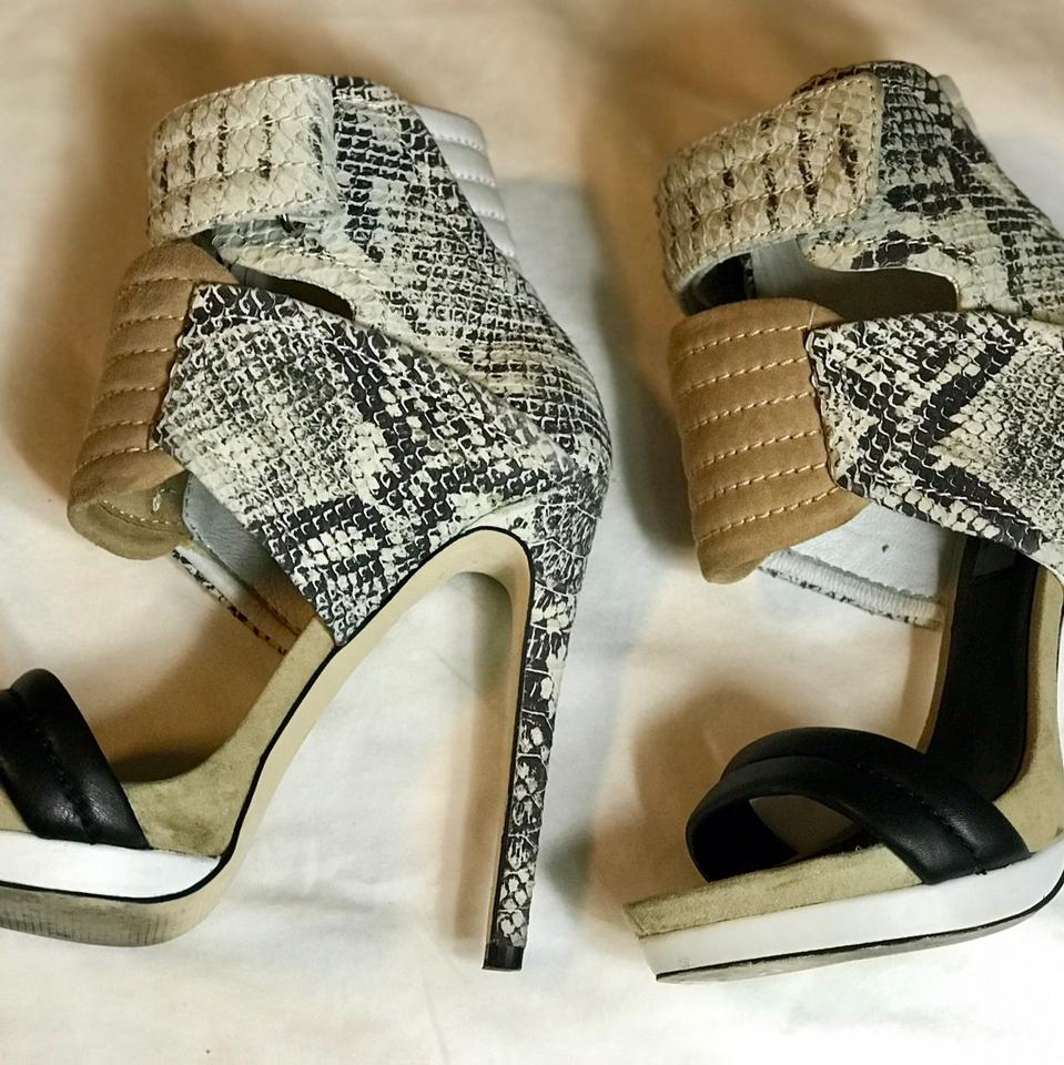 f9e20ab3c0d Mia Shoes Tan and Snakeskin Limited Edition Rocco Platforms Size US 6  Regular (M, B) 71% off retail