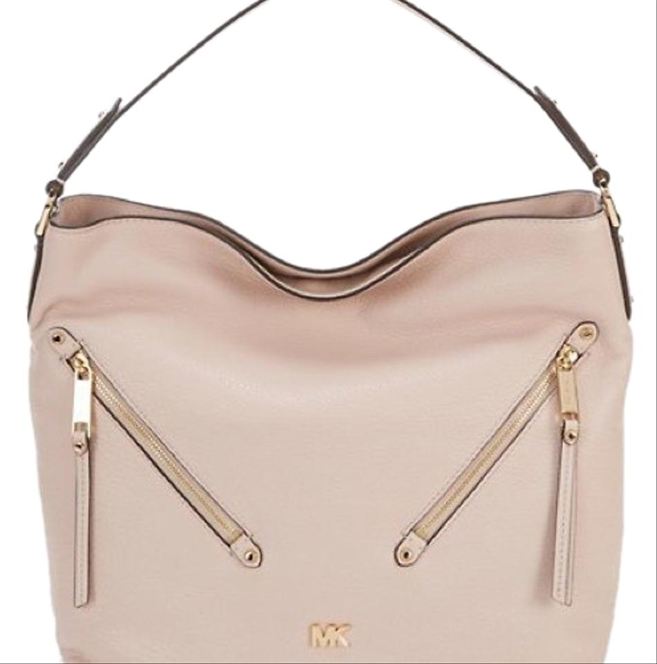9a6f3849c1f8 Michael Kors Evie Large Soft Pink Hobo Bag - Tradesy