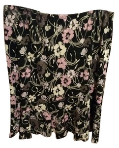 BCBG Skirt Black with pink