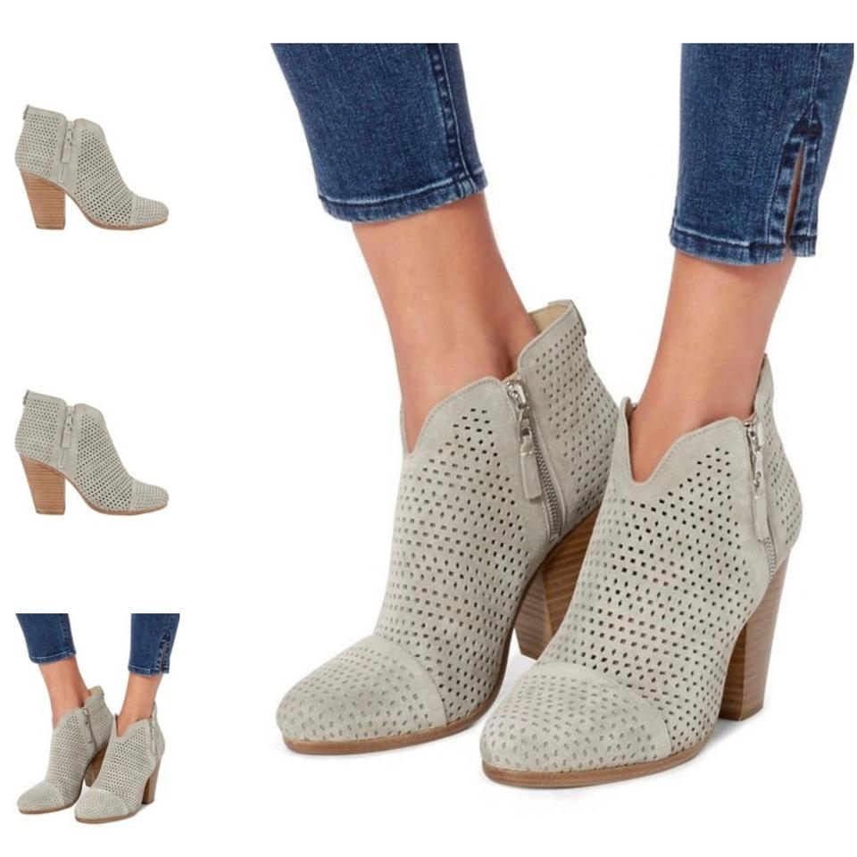 c0b176b91e Rag & Bone Grey Margot Perforated Boots/Booties Size EU 38.5 (Approx. US  8.5) Regular (M, B) 61% off retail