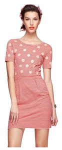 Marc by Marc Jacobs short dress Red/Tan Stripes Sequence Dots Preppy on Tradesy