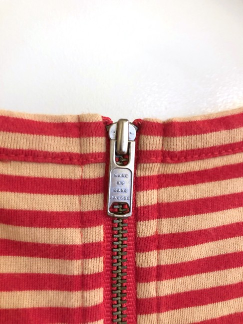 Marc by Marc Jacobs short dress Red/Tan Stripes Sequence Dots Preppy on Tradesy Image 2