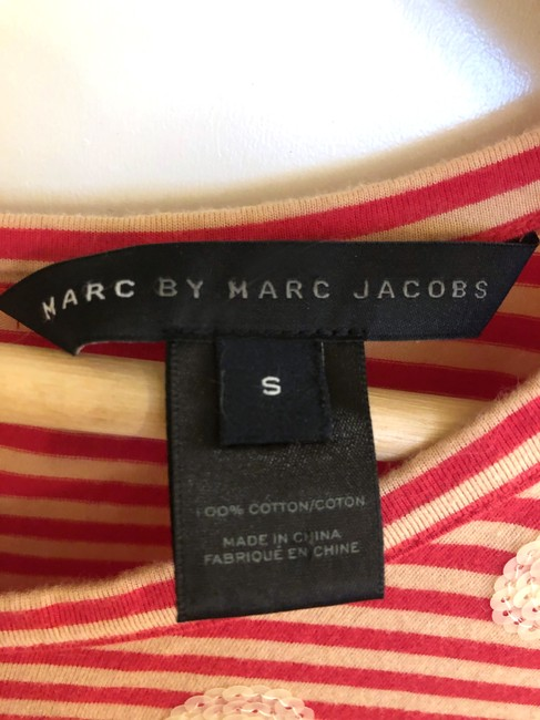 Marc by Marc Jacobs short dress Red/Tan Stripes Sequence Dots Preppy on Tradesy Image 3