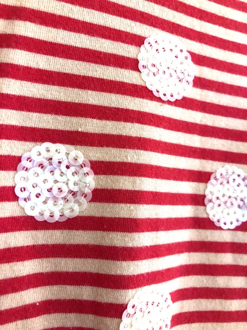 Marc by Marc Jacobs short dress Red/Tan Stripes Sequence Dots Preppy on Tradesy Image 4