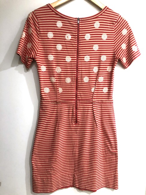 Marc by Marc Jacobs short dress Red/Tan Stripes Sequence Dots Preppy on Tradesy Image 6