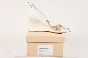 Shoes of Prey Ivory Mariposa Wedges Size US 8.5 Regular (M, B)