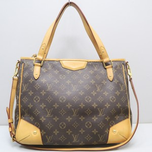 Louis Vuitton Estrela Canvas Satchel in Brown
