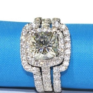 New 4cttw Band Set All Sizes Engagement Ring