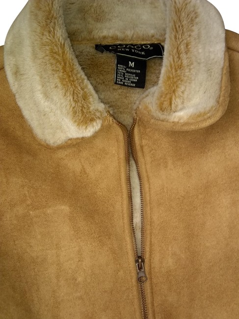 Preload https://img-static.tradesy.com/item/24677014/coaco-new-york-tan-fur-trim-coat-size-10-m-0-2-650-650.jpg