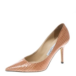 aae40cac4eec EU 40 (Approx. US 10). Jimmy Choo Leather Pink Pumps