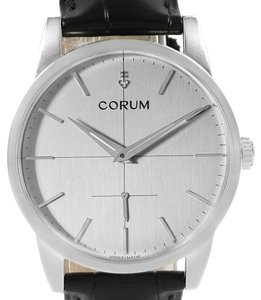 Corum Corum Heritage 38mm Silver Dial Steel Mens Watch V157/02614