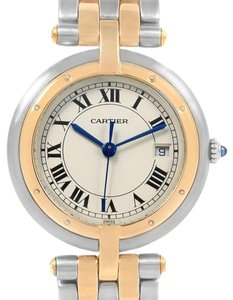 4921d4618c Cartier Cartier Panthere Vendome Two Row Steel Yellow Gold Ladies Watch