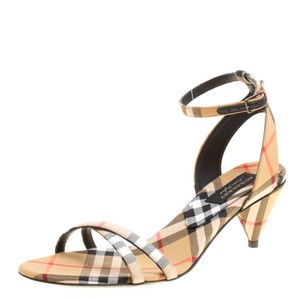 Burberry Leather Beige Sandals