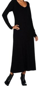 Black Maxi Dress by Louis Dell'Olio
