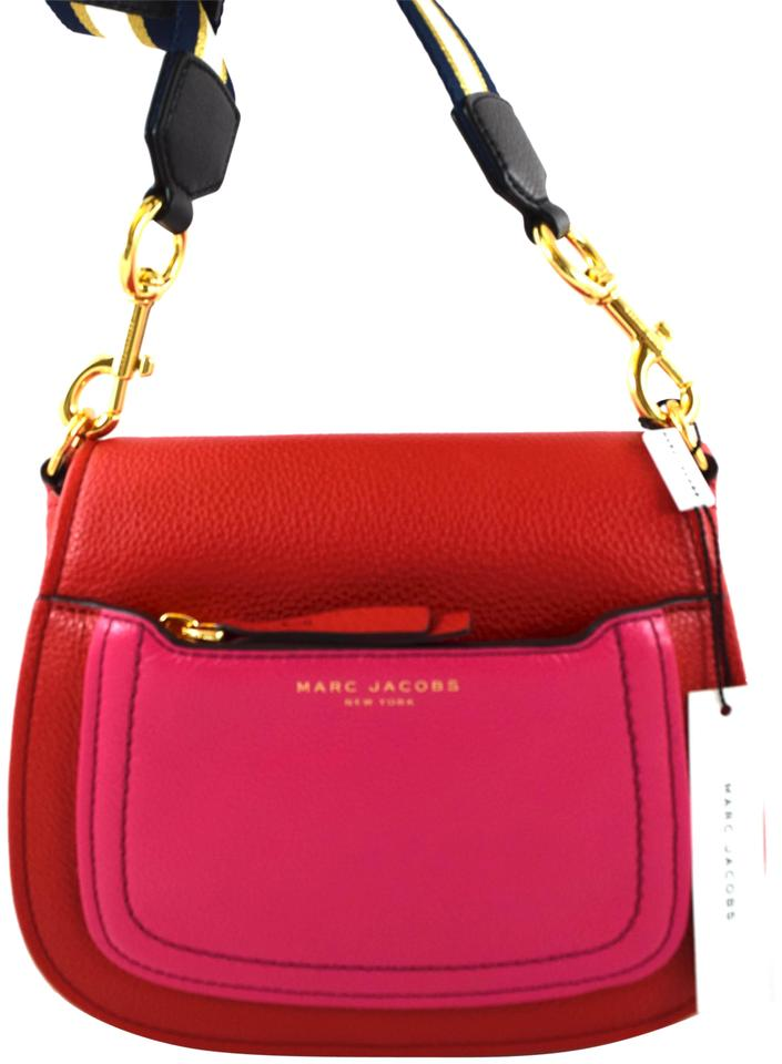 138d990c99fb Marc by Marc Jacobs Empire City Mini Apple Red Multi Leather ...