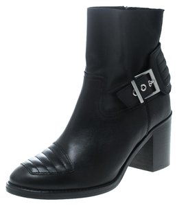 Zadig & Voltaire Leather Ankle Black Boots